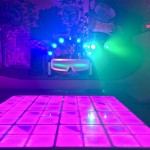 16. LED Dance Floor + DJ Work Station