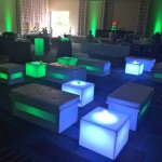 25. Glow Lounge Furniture Setup