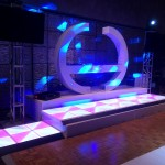 LED Dance Floor + Galaxian Work Station
