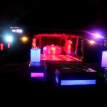 26. LED Dance Floor + Glow Furniture