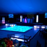 17. LED Floor + Stages + Vinyl Dance Floor Border