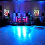 Turnberry Dance Floor + Glow Tower Setup+Live Shots (Projection-Screens)