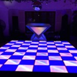 1. LED Dance Floor + Designer Workstation