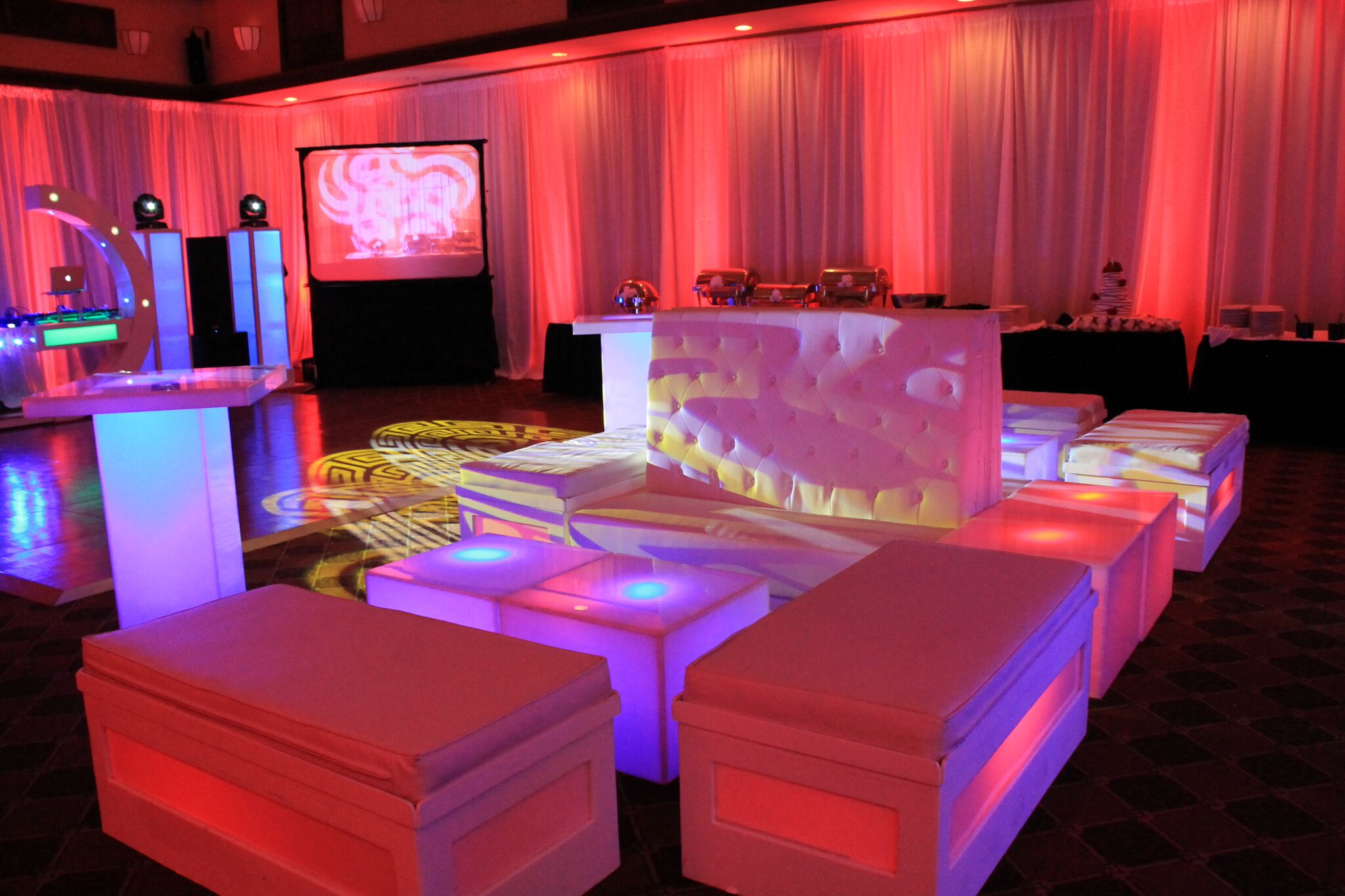 Lounge Bar Furniture Rental Miami Fort Lauderdale