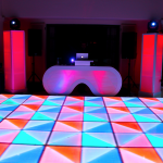 10. LED Dance Floor + The Ray Work Station
