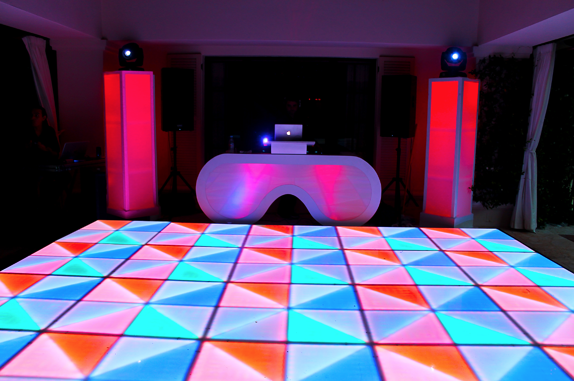 ft with floors miami led rental boy lit palm glow dance tall floor beach south west lauderdale tables